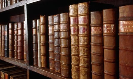 Classic literature at the Bodleian Library in Oxford