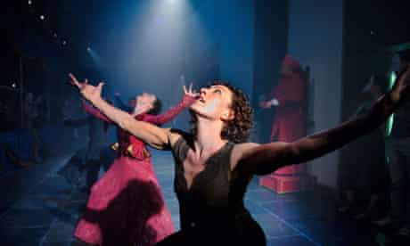 Raquel Meseguer in Punchdrunk's The Duchess of Malfi, done in collaboration with the ENO