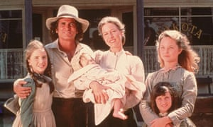 West is best ... the cast of Little House on the Prairie, adapted for television