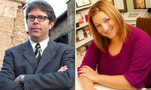 Jonathan Franzen and Jennifer Weiner