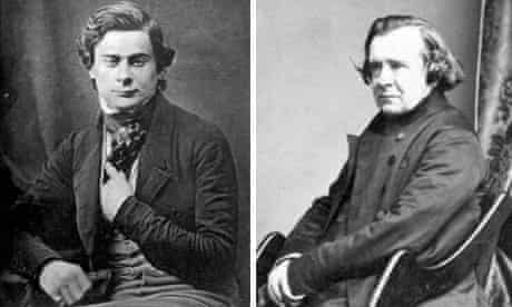 Thomas Huxley and Samuel Wilberforce