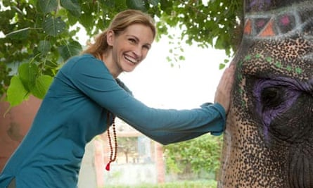 Julia Roberts in a scene from Eat, Pray, Love