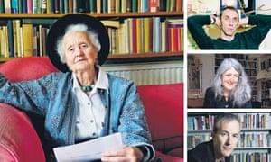 Mary Midgley, Will Self, Mary Beard and Geoff Dyer