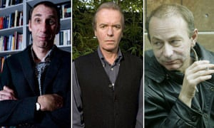 Will Self, Martin Amis and Michel Houellebecq
