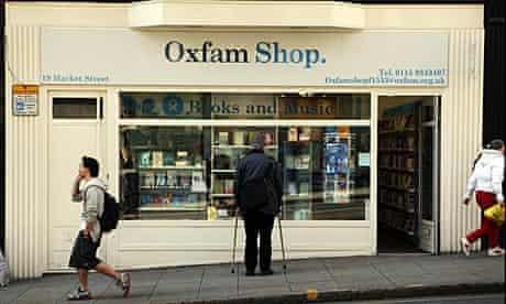Oxfam bookshop, Nottingham