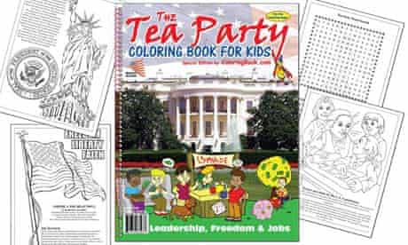 Tea Party Coloring Book for Kids