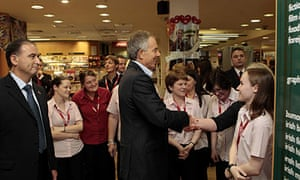 Tony Blair in Dublin
