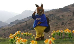 MC Nuts performs the Daffodils rap