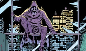 Watchmen, by Alan Moore and Dave Gibbons illustrator Dave Gibbons