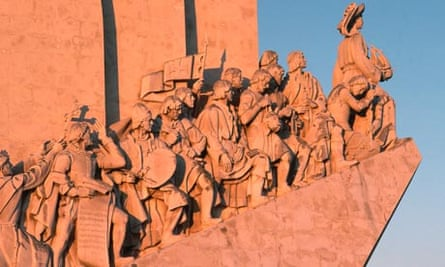 The Discoverer's Monument in Lisbon