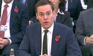 James Murdoch appears before the culture, media and sport select committee