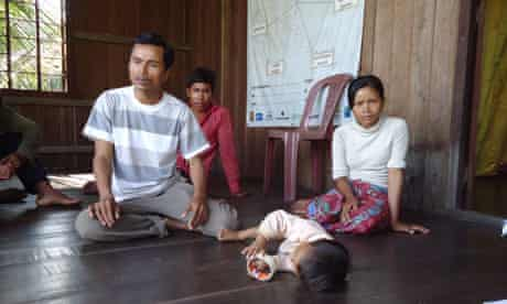 Hea Samoeun is chief of the resin collectors in his village in Cambodia
