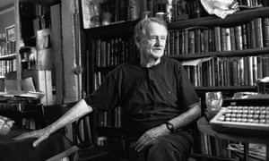 George Whitman, the owner of Shakespeare and Company in 1992