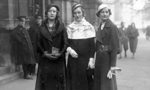 Unity, Diana and Nancy Mitford in 1932