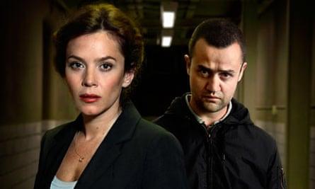 Anna Friel and Daniel Mays in the TV drama Public Enemies