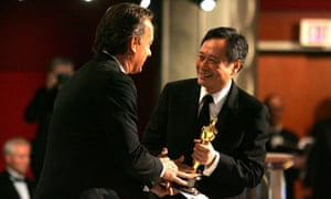 Ang Lee accepts the best director Oscar in 2006. But Brokeback Mountain lost best film to Crash