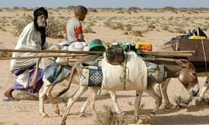 Sahel desert Mauritania