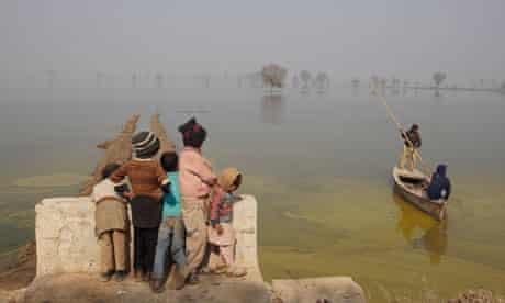 The Pakistan flood disaster