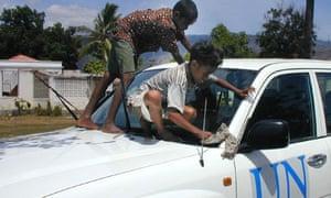 EAST TIMOR un boys