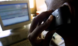 A teller at a customized mobile telephon nairobi