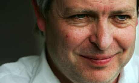 The author Jonathan Coe