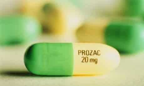 A Prozac tablet