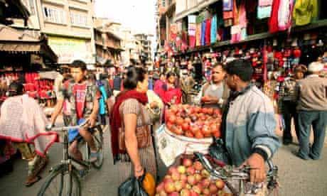 street life kathmandu