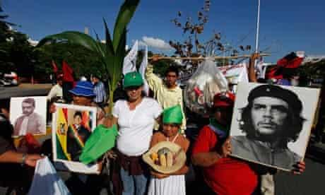 Activists from Via Campesina
