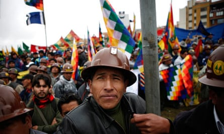 bolivian miners morales