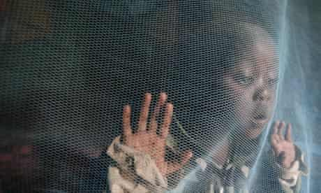 kenya child malaria net