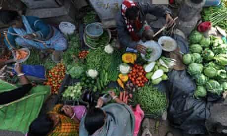 Indian vegetable vendors kolkata