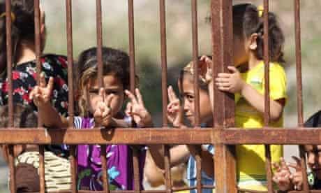 Syrian refugee children turkey