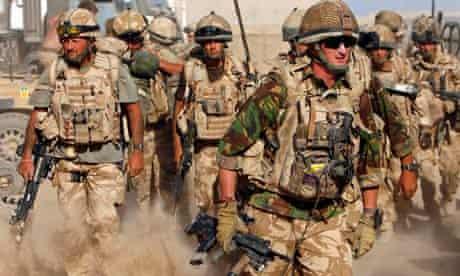 British soldiers Helmand province