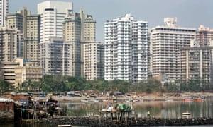 Tower blocks in Mumbai