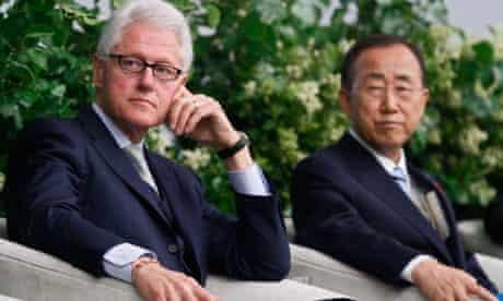 Bill Clinton, Ban Ki-moon