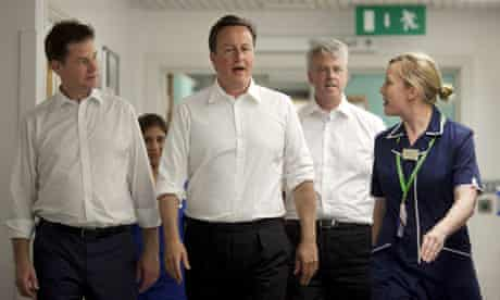 Changes to NHS Bill cameron clegg