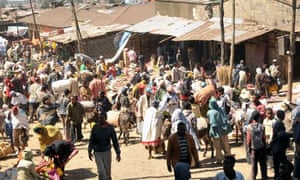 Merkato marketplace in Addis Ababa