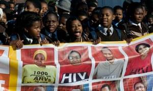 aids activists cape town