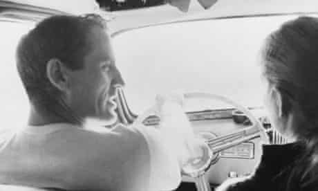 Neal Cassady, left, inspired the character of Dean Moriarty in Jack Kerouac's On the Road