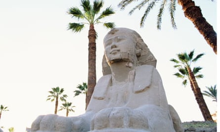The Sphinx at Luxor