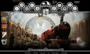 Pottermore: Harry Potter online experience from JK Rowling