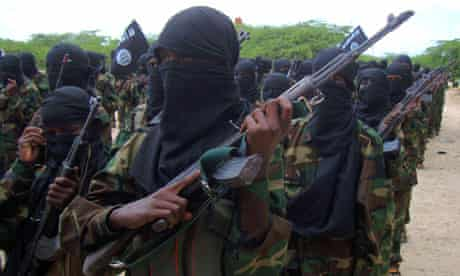 Members of the hardline al-Shabaab Islamist rebel group