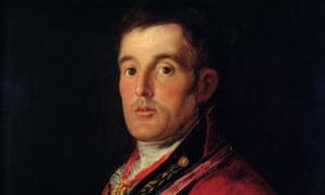 Detail of The Duke of Wellington