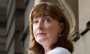 Writer Janice Galloway at Glasgow's Mitchell library