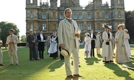 Hugh Bonneville as Robert, Earl of Grantham in Downton Abbey