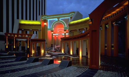 The Piazza d'Italia in New Orleans, by Charles Moore & Urban Innovations Group