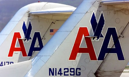 American airlines jets in 2001
