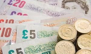 UK Pound Sterling Cash