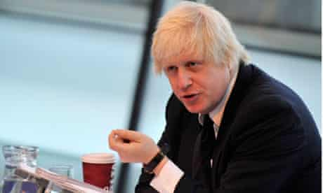 London's mayor, Boris Johnson