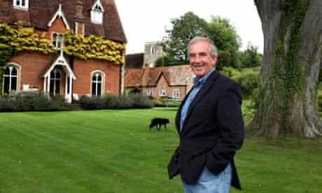 Robert Harris at home near Newbury